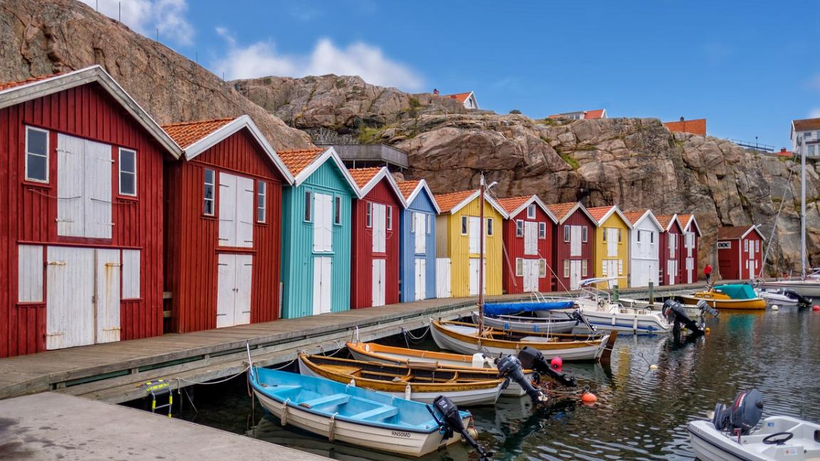 domy u moře