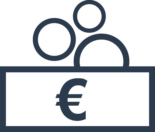 peníze, černobílá ilustrace